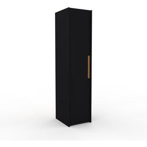 Aktenschrank Schwarz - Flexibler Büroschrank: Hochwertige Qualität, einzigartiges Design - 54 x 233 x 62 cm, Modular