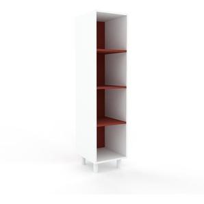Aktenschrank Weiß - Flexibler Büroschrank: Hochwertige Qualität, einzigartiges Design - 41 x 168 x 47 cm, Modular
