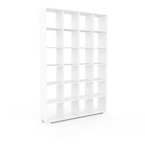 Aktenschrank Weiß - Flexibler Büroschrank: Hochwertige Qualität, einzigartiges Design - 156 x 235 x 35 cm, Modular