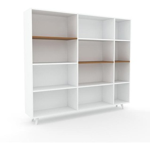 Aktenschrank Weiß - Flexibler Büroschrank: Hochwertige Qualität, einzigartiges Design - 190 x 168 x 35 cm, Modular