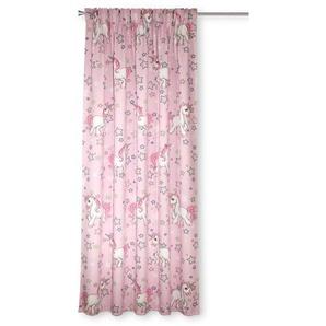 Albani Fertiggardine, Pink, Polyester 135 x 245 cm