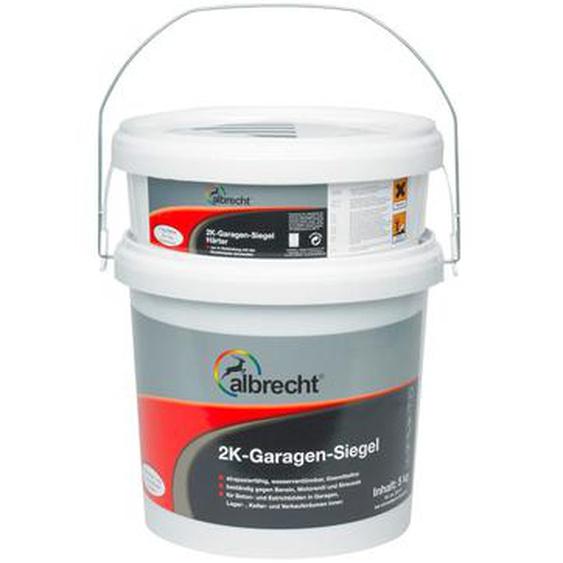 Albrecht 2K-Garagen-Siegel Steingrau seidenglänzend 5 kg