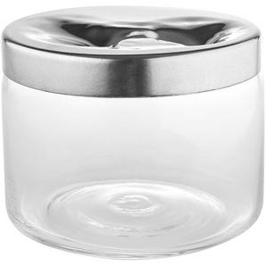 Alessi LC20 Keksdose mit Deckel, Glas/Edelstahl poliert