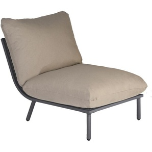 Alexander Rose - Beach Lounge Mittelelement - taupe - Flint - outdoor