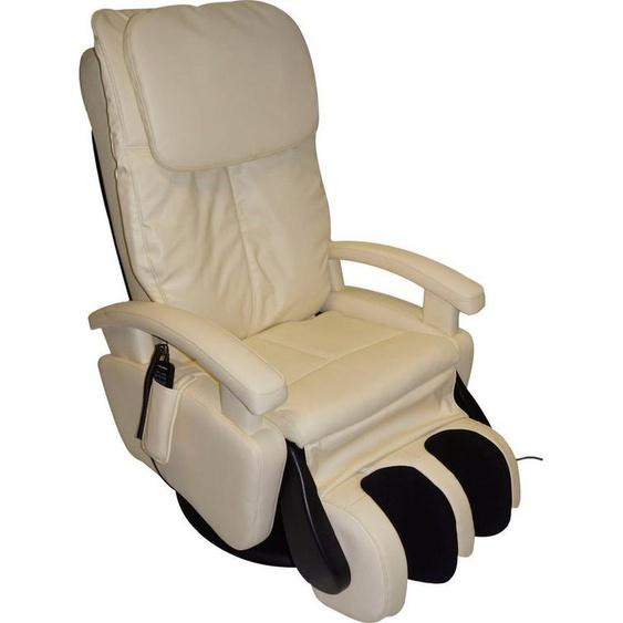 Alpha Techno Massagesessel »AT 599i«, mit 4-Rollen-Massagesystem und drehbarem Massage-Fußteil, beige
