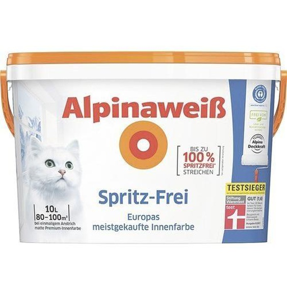 Alpina Alpinaweiß Spritz-Frei 10L