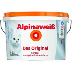 Alpinaweiß Premium-Innenfarbe Das Original, weiß, 1 l
