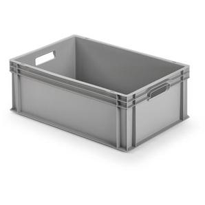 Alutec Kunststoffbehälter geschlossen 60 x 22 x 40 cm grau