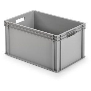 Alutec Kunststoffbehälter grau, 60 x 32 x 40 cm