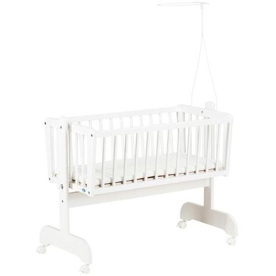 Alvi Wiege   Sina weiß - weiß | Möbel Kraft