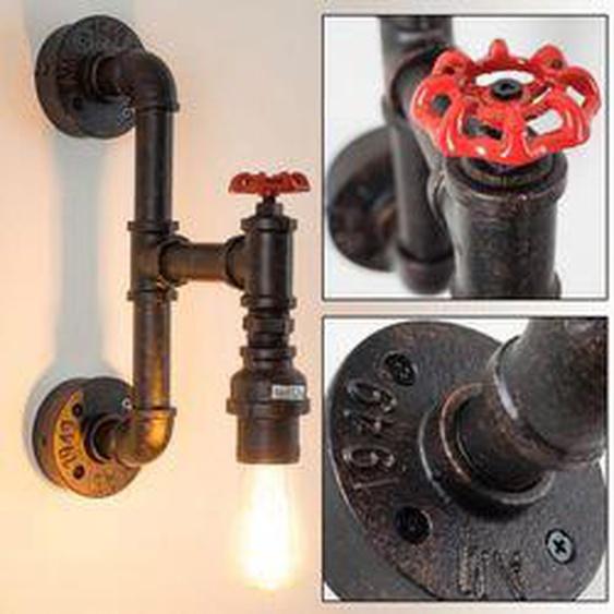 Amal Wandleuchte Rostfarben, 1-flammig - Modern/Industrial - Innenbereich - versandfertig innerhalb von 4-8 Werktagen