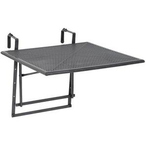 Ambia Garden: Tisch, Grau, B/H 70 70