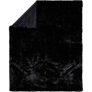 FELLDECKE 150/200 cm SchwarzAmbiente: FELLDECKE 150/200 cm Schwarz