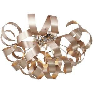 Ambiente: LED-Deckenleuchte, Kupfer, H 40