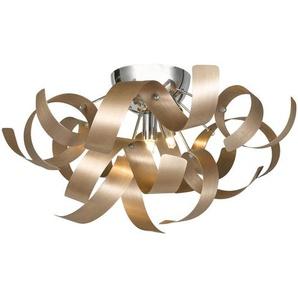 Ambiente: LED-Deckenleuchte, Kupfer, H 24