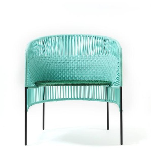 Ames  - Caribe Loungesessel - mint/ grün/ schwarz - outdoor