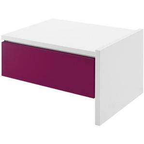 Anbau-Nachtkommode | rosa/pink | 52,9 cm | 34 cm | 43,4 cm | Möbel Kraft