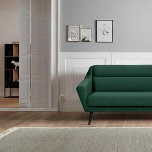 andas 2-Sitzer »Bille«, mit Naht im Rückenkissen und Eiche-Beinen, Design by Morten Georgsen