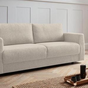 andas 2-Sitzer Hobro, in 3 Bezugsqualitäten vielen Farben, Design by Morten Georgsen B/H/T: 186 cm x 80 102 cm, Struktur grob beige Sofas Couches Möbel sofort lieferbar