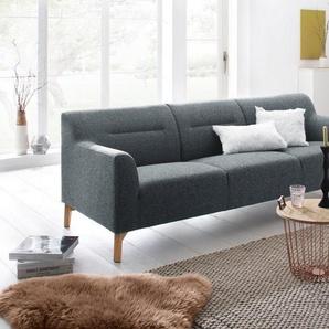 andas 3-Sitzer »Kiruna«, mit abgerundeten Armlehnen