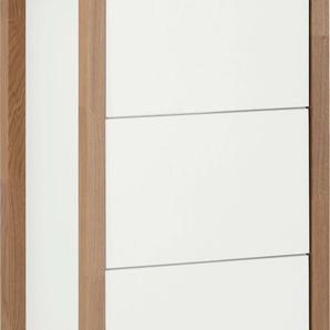 andas Badkommode New Est, Gestell aus massiver Eiche B/H/T: 47 cm x 100 35 cm, Anzahl Schubladen: 3 weiß Bad-Kommoden Badmöbel
