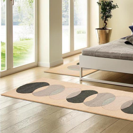 andas Bettumrandung Modern 2, Design by Morten Georgsen B/L (Brücke): 70 cm x 140 (2 St.) (Läufer): 320 (1 St.), rechteckig beige Bettumrandungen Läufer Teppiche