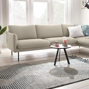 Ecksofa , Chaiselonge rechts, », mit Chaiselonge, mit losen Sitz- und Rückenkissen, skandinavischer Stil«, FSC®-zertifiziert, andas