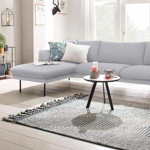 Ecksofa », mit Chaiselonge, mit losen Sitz- und Rückenkissen, skandinavischer Stil«, Chaiselonge links, FSC®-zertifiziert, andas