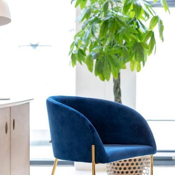 andas Esszimmerstuhl »Nixie« (Set, 1 Stück), mit zwei unterschiedlichen Beinfarben und Bezugsqualitäten erhältlich, Sitzhöhe 47 cm