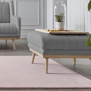 andas Hocker »Patch«, mit feiner Steppung und Massivholz-Beinen aus Eiche, Design by Morten Georgsen