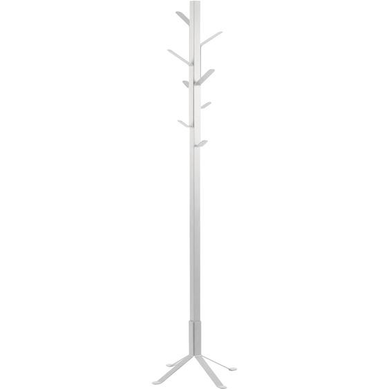 andas Kleiderständer Vincent 50x50x181 cm weiß Kleinmöbel Garderobenständer