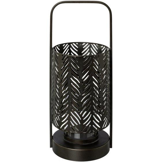 andas Windlicht »Jalmar« (1 Stück), aus Metall, mit Glaseinsatz