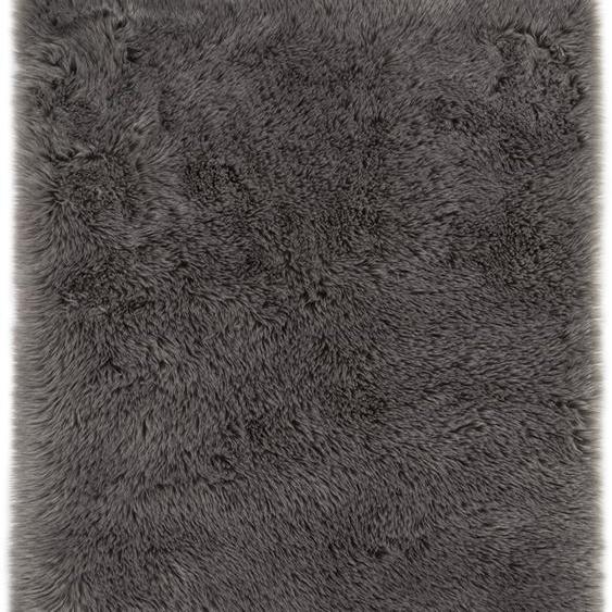 Andiamo Fellteppich Ovium, rechteckig, 60 mm Höhe, Kunstfell, Wohnzimmer B/L: 160 cm x 230 cm, 1 St. braun Esszimmerteppiche Teppiche nach Räumen