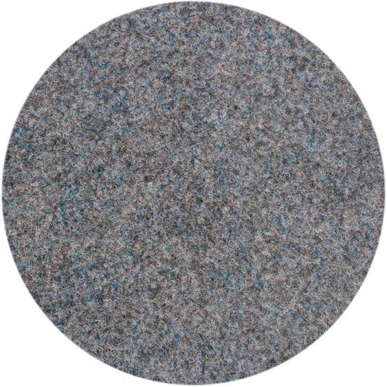 Andiamo Rasenteppich Field, rund, 4 mm Höhe B/L: 95 cm x Ø cm, 1 St. grau Outdoor-Teppiche Teppiche