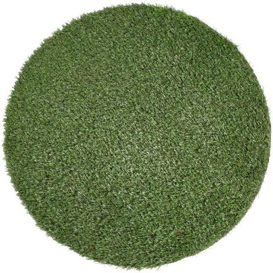 Andiamo Rasenteppich Sansibar, rechteckig, 15 mm Höhe B/L: 100 cm x cm, 1 St. grün Outdoor-Teppiche Teppiche