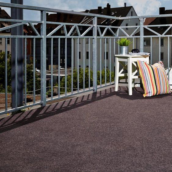 Andiamo Rasenteppich Sunny, rechteckig, 10 mm Höhe B/L: 133 cm x 300 cm, 1 St. braun Outdoor-Teppiche Teppiche