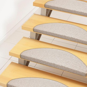 Andiamo Stufenmatte »Bob«, 2x 65x28 cm, 4,5 mm Gesamthöhe (ca.), beige