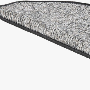 Andiamo Stufenmatte »Leo«, 15x 28x65 cm, 6 mm Gesamthöhe, grau