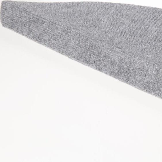 Andiamo Stufenmatte Paris, halbrund, 2 mm Höhe, 15 Stück in einem Set B/L: 23 cm x 65 cm, St. grau Stufenmatten Teppiche