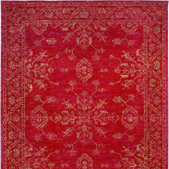 Andiamo Teppich Bonnie, rechteckig, 5 mm Höhe, In- und Outdoor geeignet, Wohnzimmer B/L: 160 cm x 230 cm, 1 St. rot Esszimmerteppiche Teppiche nach Räumen