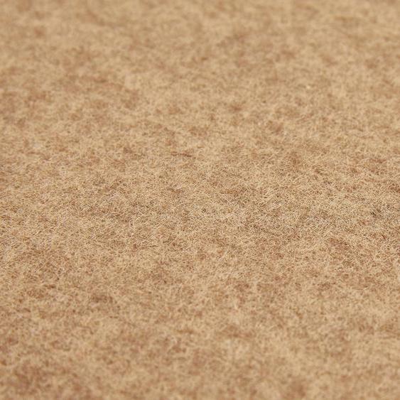 Andiamo Teppichfliese Skandi Nadelfilz, rechteckig, 4 mm Höhe, 50 Stück (8 m²), selbstklebend, für Stuhlrollen geeignet B/L: 40 cm x cm, St. beige Teppichfliesen Bodenbeläge Bauen Renovieren