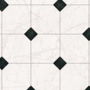 ANDIAMO Vinylboden »Strong«, Fliese weiß-schwarz