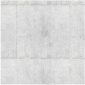 ANDIAMO Vinyl-Boden »York Riffelblech silber«, Meterware in 200 cm Breite