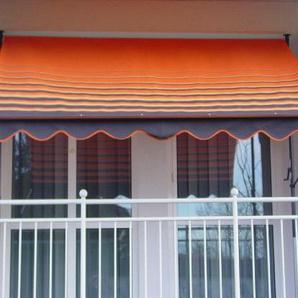Angerer 2301/200 Klemmmarkise Dralon Nr. 200, Orange, 250 cm