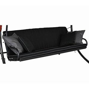 Angerer Auflage für Hollywoodschaukel, Elegance Style Schaukelauflage Design, schwarz, 180x50x50 cm, 42024/137