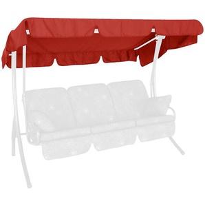 Angerer Dach für Hollywoodschaukel - rot - 210 cm - 145 cm | Möbel Kraft