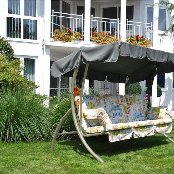 Angerer Freizeitmöbel Hollywoodschaukel »Comfort Liberty«, 3-Sitzer, Bettfunktion, inkl. Auflagen und Zierkissen