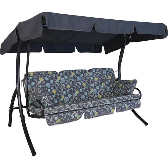 Angerer Freizeitmöbel Hollywoodschaukel »Riva«, 3-Sitzer, Bettfunktion, inkl. Auflagen und Zierkissen
