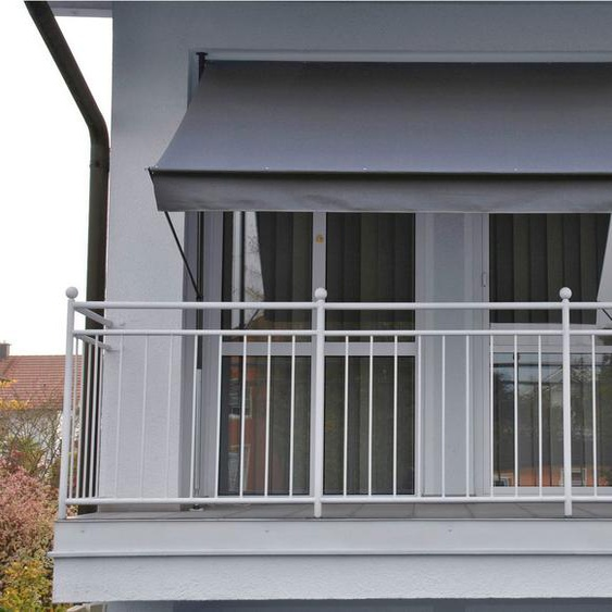Angerer Freizeitmöbel Klemmmarkise grau, Ausfall: 150 cm, versch. Breiten