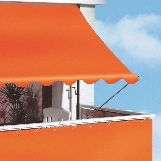 Angerer Freizeitmöbel Klemmmarkise orange, Ausfall: 150 cm, versch. Breiten